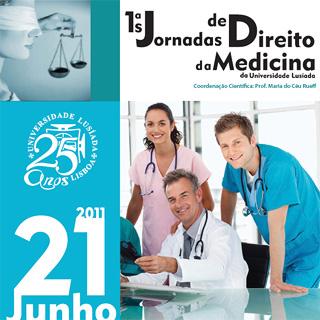 1ªs Jornadas Direito da Medicina da Universidade Lusíada