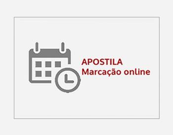O Portal do Ministério Público publicou informação sobre a marcação on line de apostilha